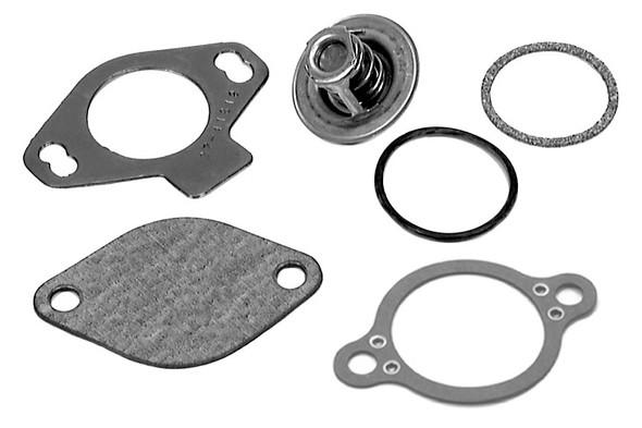 807252Q 4 Quicksilver Mercruiser Thermostat Kit GM V-6 & V-8