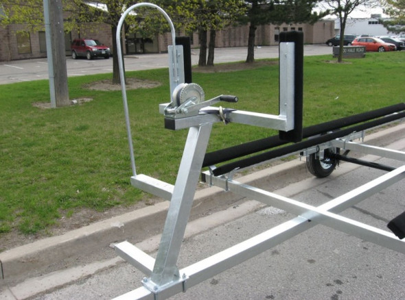 Excalibur Pontoon Boat Trailer - 1700lb capacity up to 17 ft