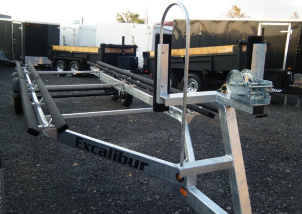 Excalibur Pontoon Boat Trailer - 4500lb Capacity up to 23 ft
