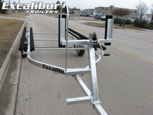Excalibur Pontoon Boat Trailer-2700lb Capacity up to 21 ft.