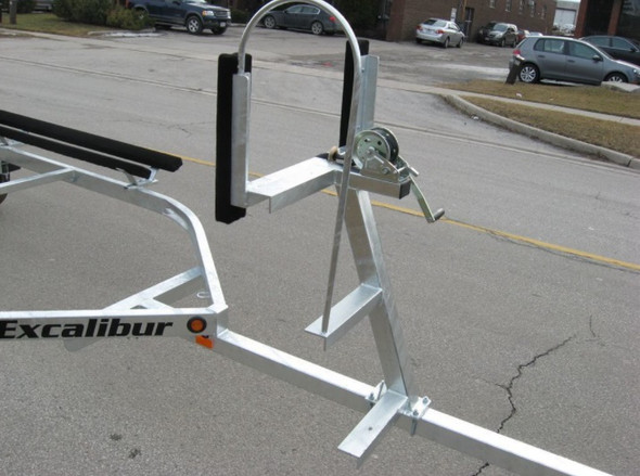 Excalibur Pontoon Boat Trailer-2700lb Capacity up to 23 ft.