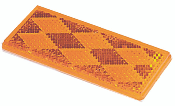3357 Wesbar Orange Reflex Reflector Lens