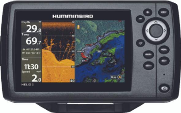 Humminbird HELIX 5 CHIRP DI Combo Fishfinder/GPS/Chartplotter W/Down Imaging