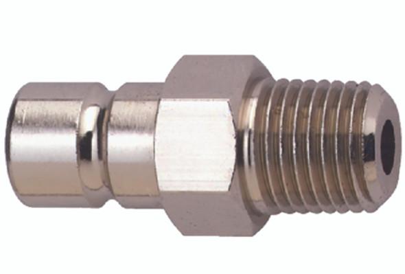 "8901-6 Attwood Fuel Connector Honda Nickel Plated Brass 1/4"" NPT"