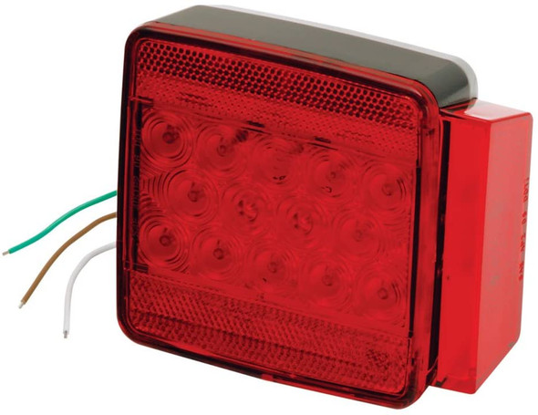 283056 Wesbar LED Submersible Right Curb Side Trailer Light