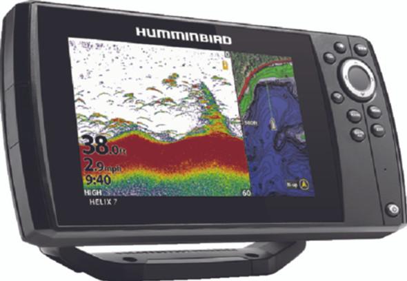 410930-1M Humminbird Helix 7 CHIRP GPS G3 Combo Fishfinder/GPS/Chartplotter