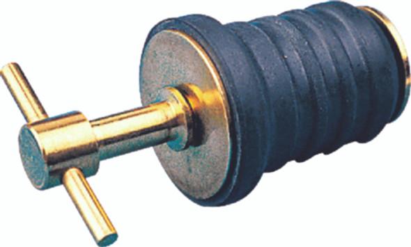 "520080-1 Seadog Brass T-Handle 1"" Drain Plug"