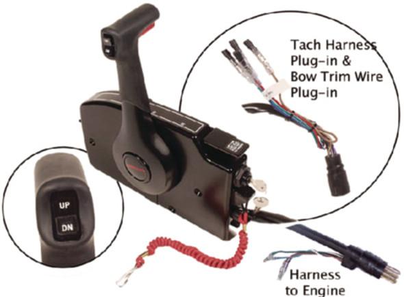 881170A20 Quicksilver Mercury Throttle/Shift Controller Box 40hp