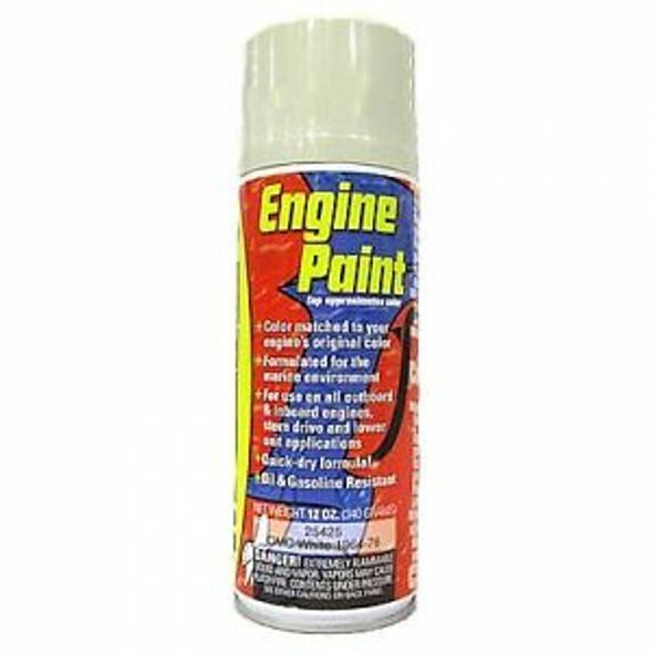 25425 Moeller Engine Paint OMC White 1964-76 12oz