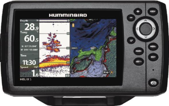 410210-1NAV Humminbird HELIX 5 CHIRP Combo Fishfinder/GPS/Chartplotter