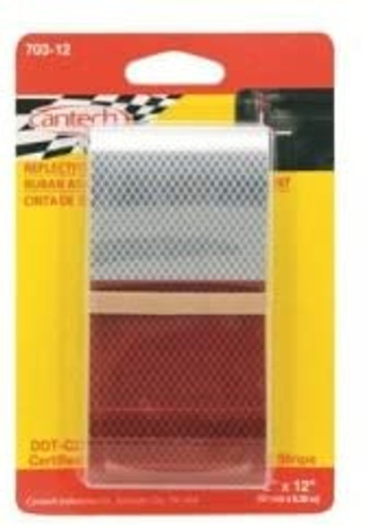 703-12 Cantech Reflective Safety Tape 2in x 12in