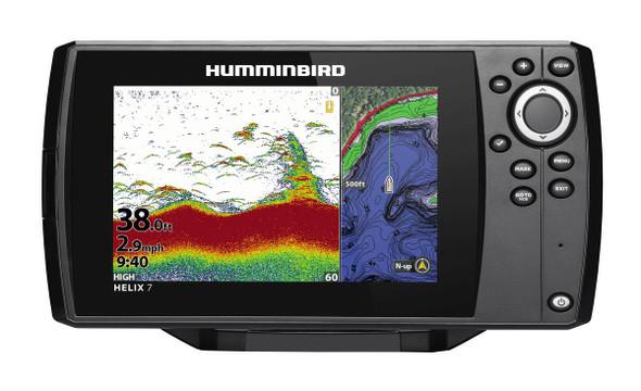 410930-1MNAV Humminbird Helix 7 CHIRP GPS G3 Sonar with Navionics +