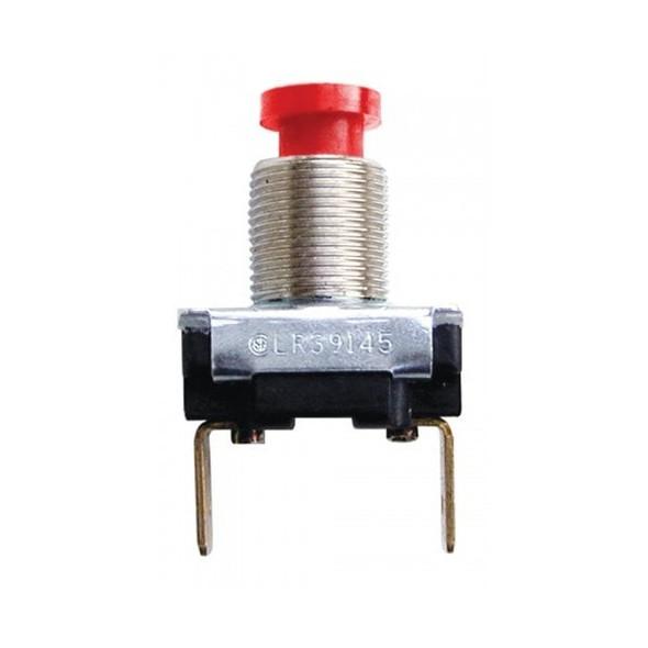 10000 Schmitt Horn Button Momentary Red Up to 15 Amps