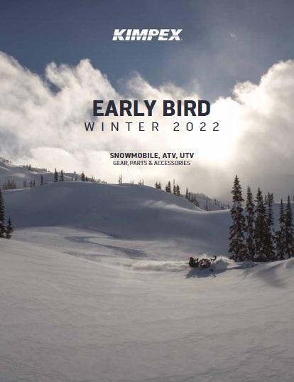 Kimpex Early Bird 2022 Winter Snowmobile ATV Catalogue