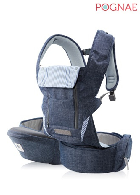NO.5 Plus ~ Beyond All in One Carrier  [NEWBORN CARRIER] ~ Color: Denim Blue