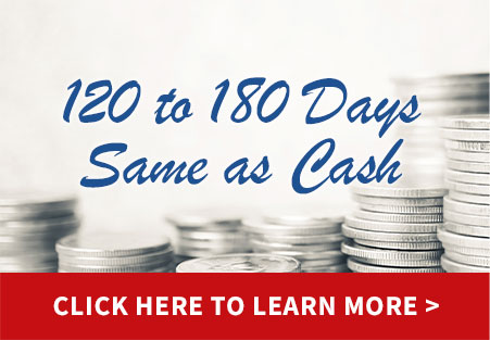120-180 Days Same as Cash
