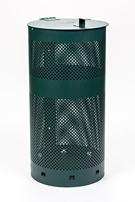 Aluminum Dog Waste Can with Lid