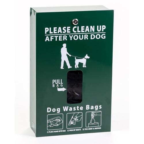 pinch-n-pull bag dispenser