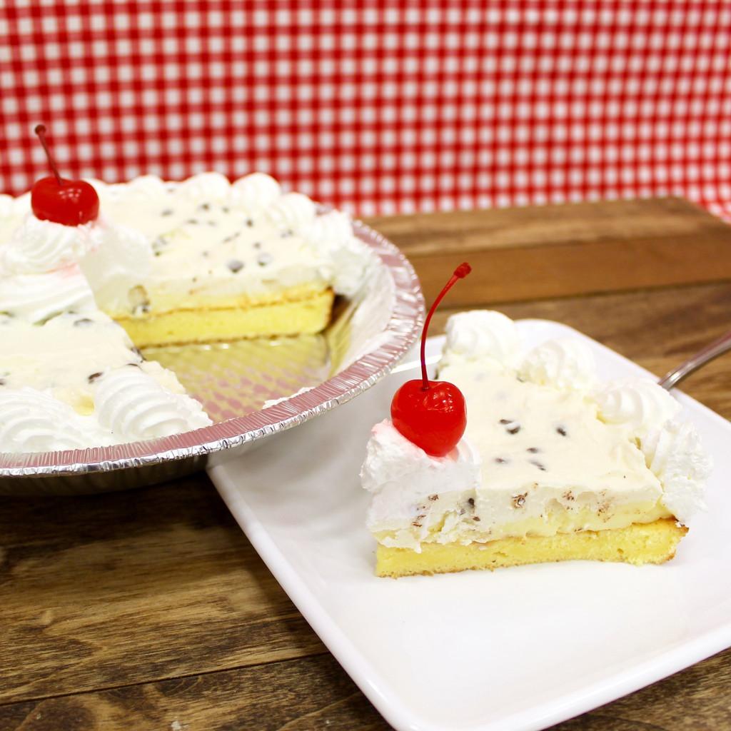 Cannoli Cake Pie
