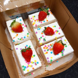 CUTS® boxed together make for a beautiful and delicious birthday gift. This allows you to plate your CUTS® on a pretty platter or give a delicious looking birthday present.