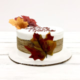 Simply Classic Thanksgiving Cake