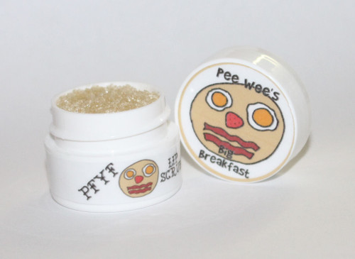 Pee Wee's Big Breakfast Lip Scrub