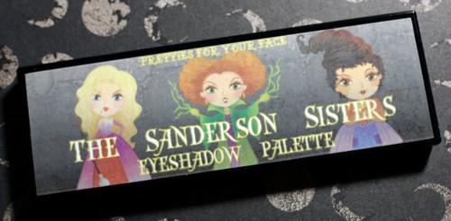 The Sanderson Sisters Palette