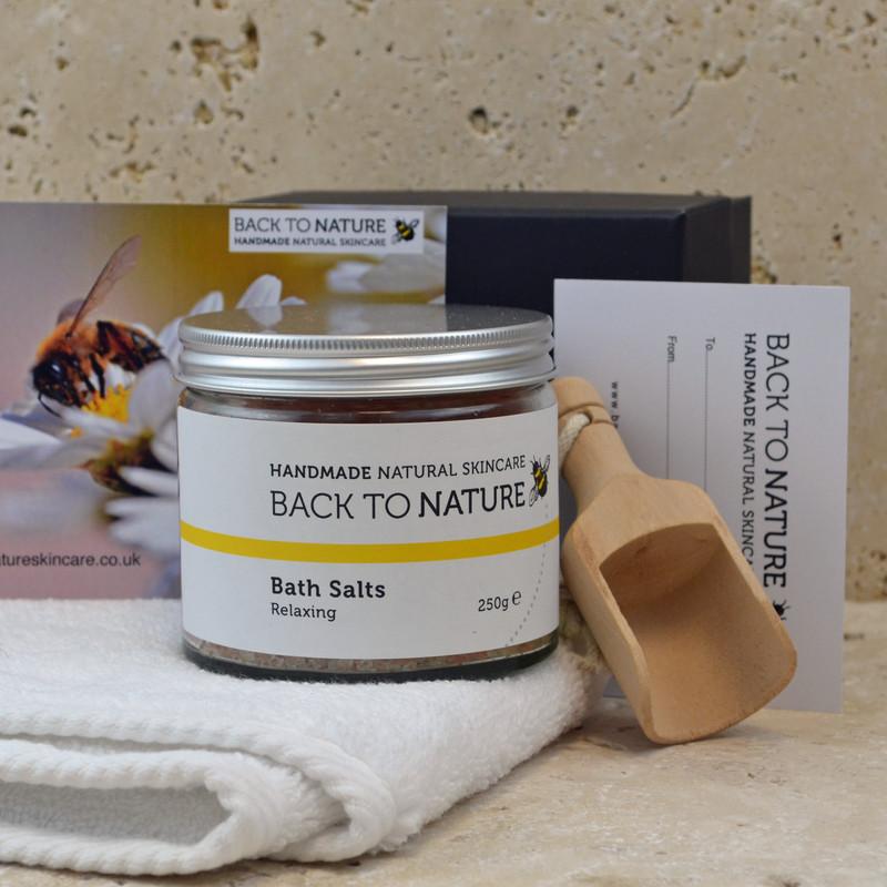 bath salts gift set