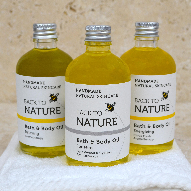100g bath & body oils