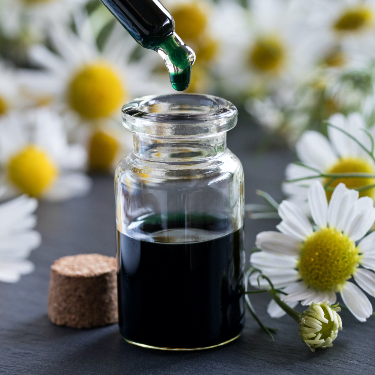 Our relaxing products include chamomile to help you sleep