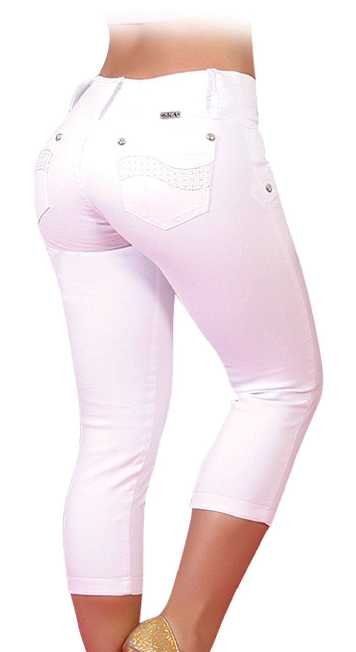 c5ea40f8343b2 Extreme Shape Butt Lifter Tummy Control Slimming Jeans for Women ...