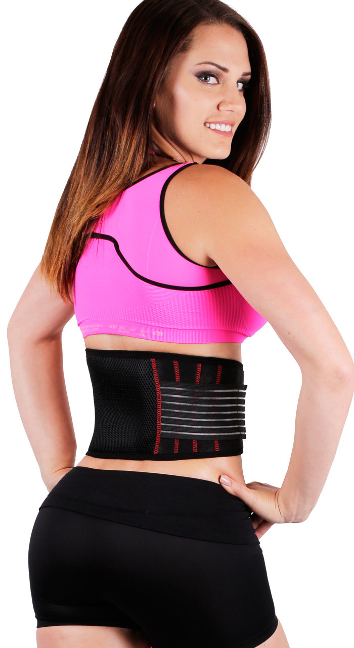 5050f6d6dd Body Spa Thermogenic Waist Trainer Hot Belt-360° Sauna sweat band for  weight loss