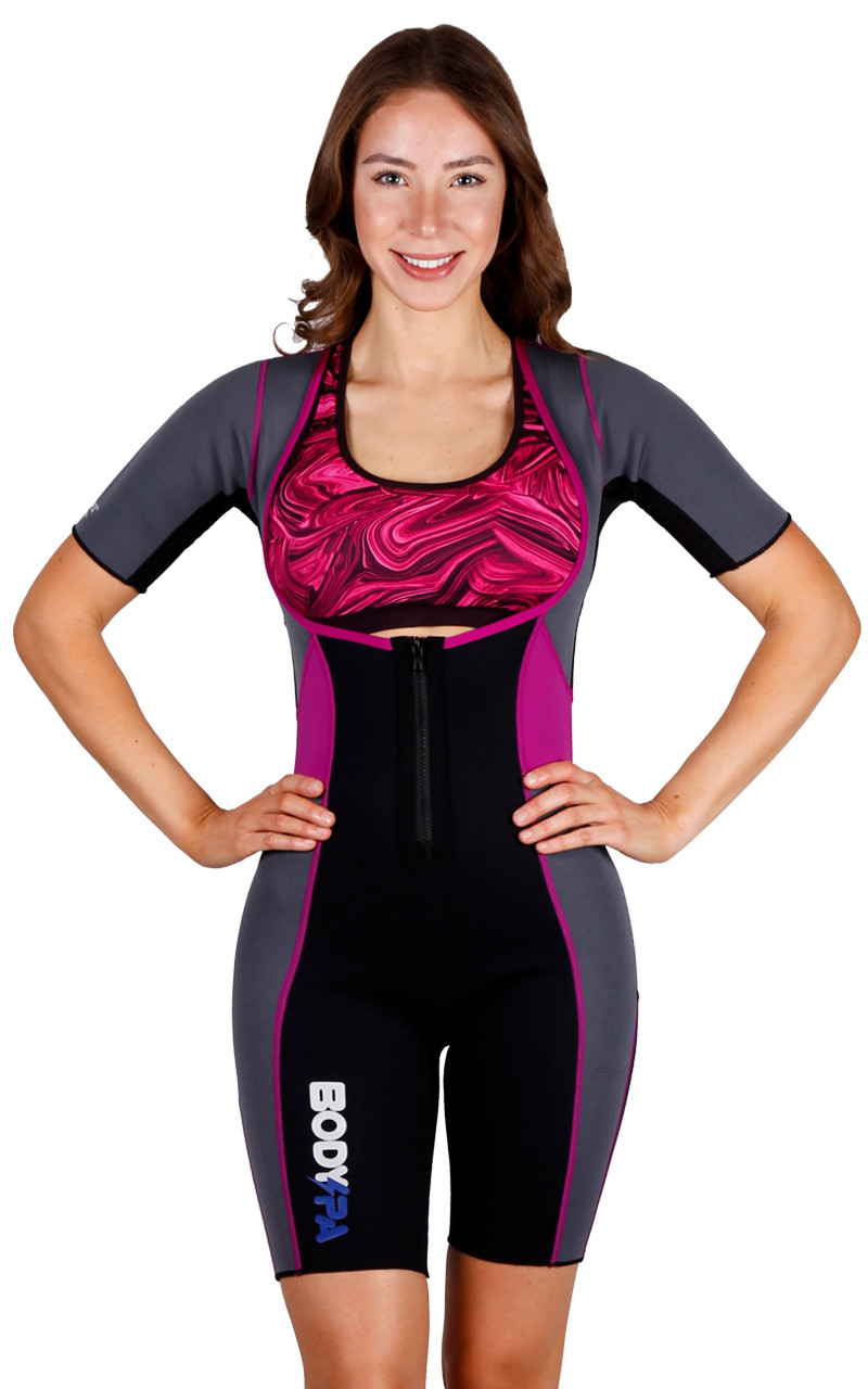 ad25b62fc032f New Body Spa Sauna suit for weight loss and sweat neoprene body suit