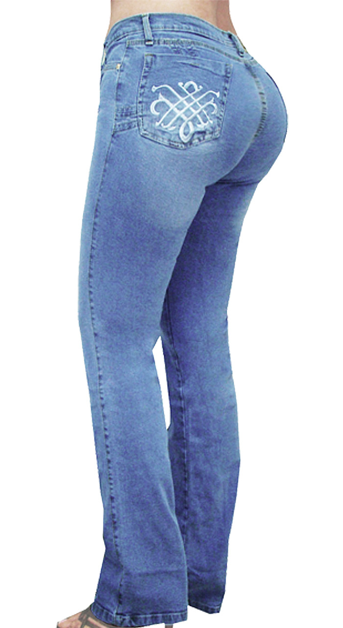 ced69933f Extreme Shape Butt Lifter Tummy Control Slimming Jeans for Women Colombian  Style High Rise Straight Comfortable Jeans Womens Levanta Cola 12386 -  extreme ...