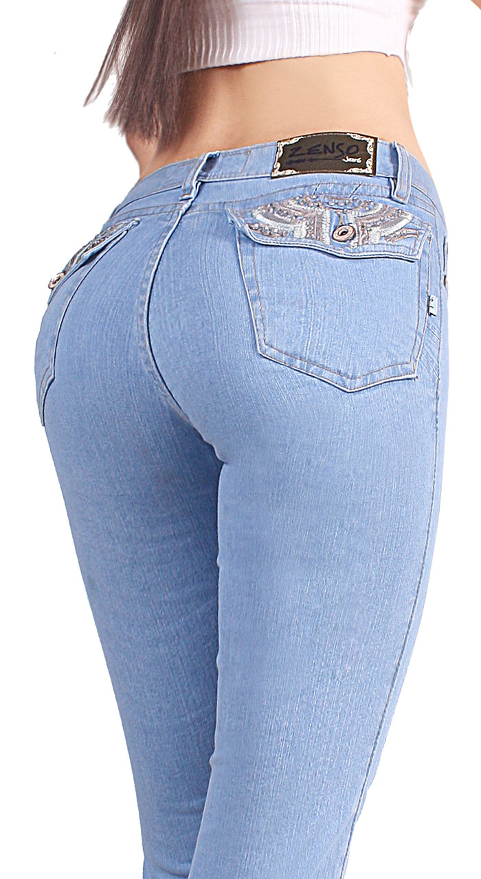 ab70efff6 Extreme Shape Butt Lifter Tummy Control boot cut Jeans for Women Colombian  Style Low Rise Skinny Comfortable Jeans Womens Levanta Cola 12677 - extreme  shape