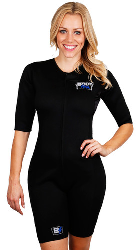 0d89d9de0d6 Body Spa Sauna suit to make you sweat for weight loss with sleeves ...