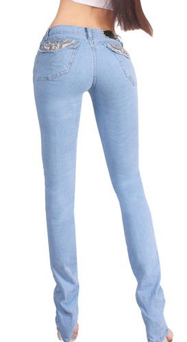 2c711ff1d ... Extreme Shape Butt Lifter Tummy Control boot cut Jeans for Women  Colombian Style Low Rise Skinny ...