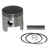 Wiseco Piston Kit .040, Tohatsu 3 Cyl 40HP, Bore Size 2.717 E Coat MPN:3156P4