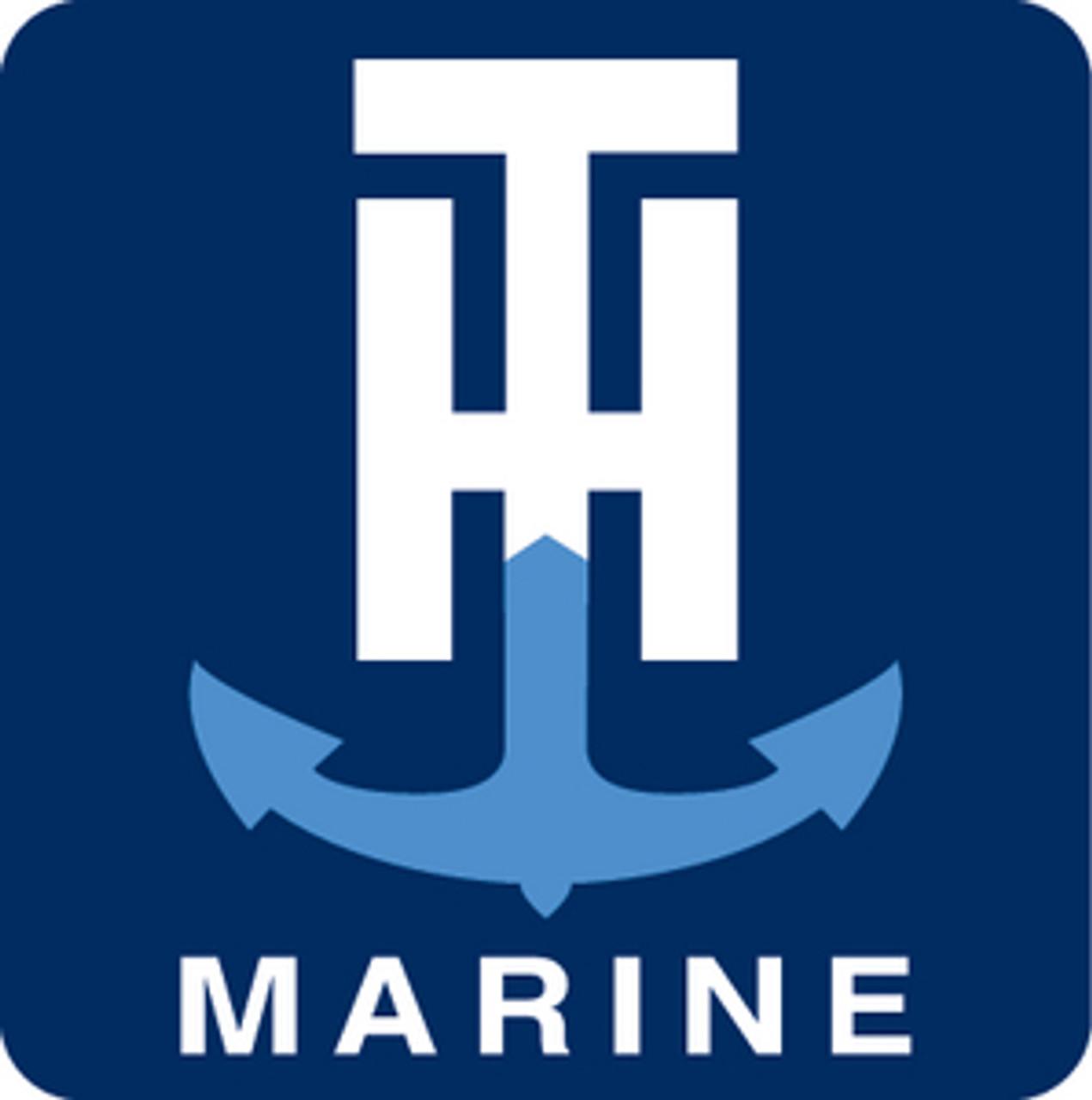 T-H Marine 15/'Whitee Wash Down Coiled Hose Wdhbr15Wbdp