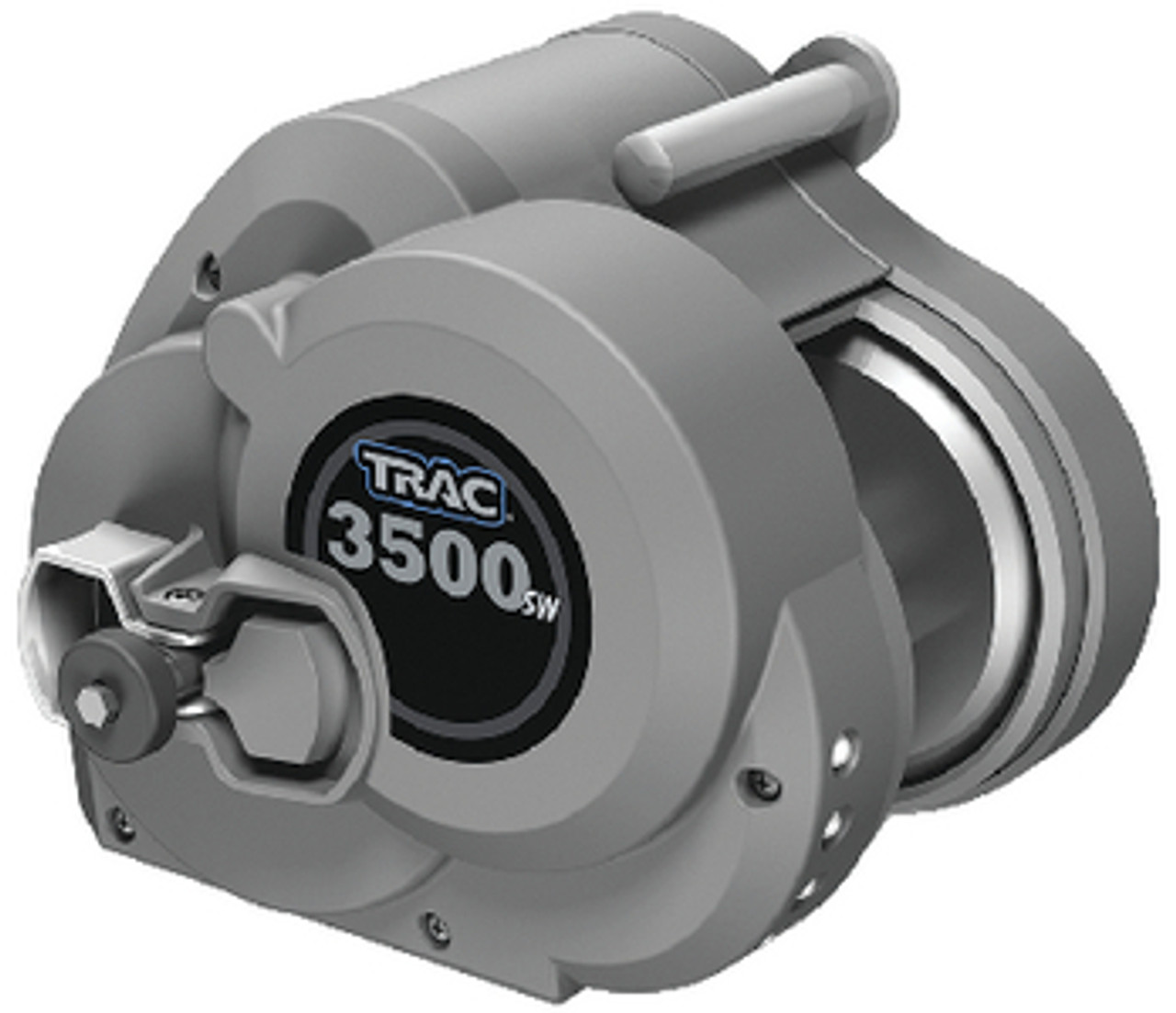 TRAC Outdoor Trailer Winch 3500