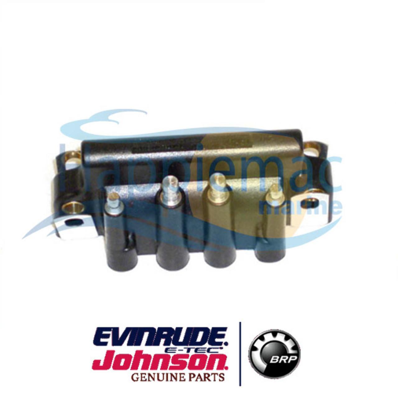 Johnson Evinrude OMC BRP OEM Dual Spark Plug Ignition Coil 583740 18-5170  183-3740