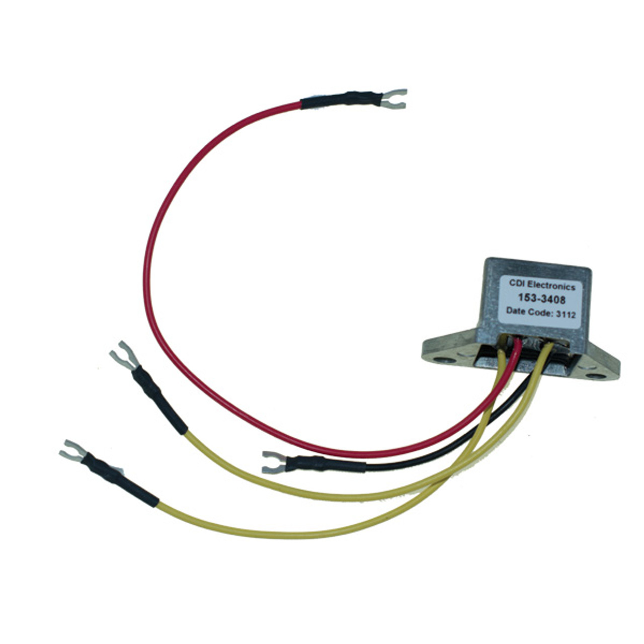 For Johnson Evinrude 50 60-70-90-115-150-200 HP 3 Wire Rectifier 18-5708 583408