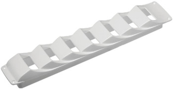 LOW PROFILE LOUVERED VENT WHT