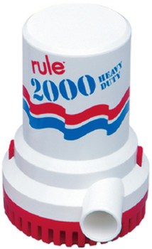 Rule SV-10 Standard Series High Capacity Manual Bilge Pumps