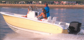 Carver Covers 70018P V-Hull Center Console Fishing with High Bow Rails
