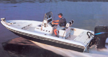 Carver Covers 71220P V-Hull Center Console Shallow Draft Fishing Boats