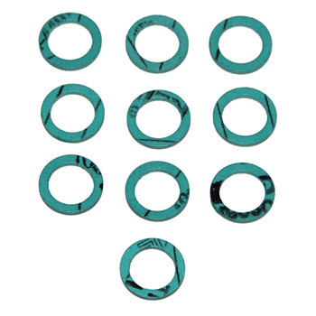 Image is a sample of a pack of 10.  Price is for (1) Washer ONLY.