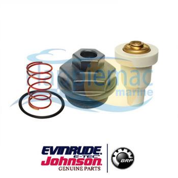 Johnson Evinrude Genuine BRP 90 115 150 175 HP V4 V6 Thermostat & Cover 0765610