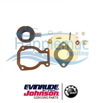 Johnson Evinrude OEM 4 4.5 6 7.5 8 9.9 15 HP Carburetor Kit 0398453 0386698