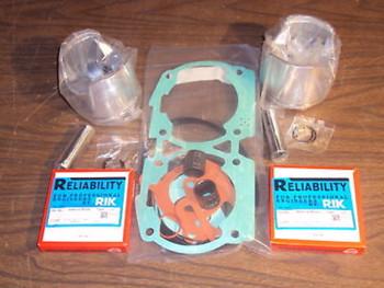 Yamaha 760 64X PWC Over Platinum Top End Rebuild Kit .75mm 1996-2000 010-826-13P